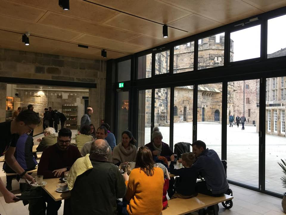 Lancaster Castle Cafe