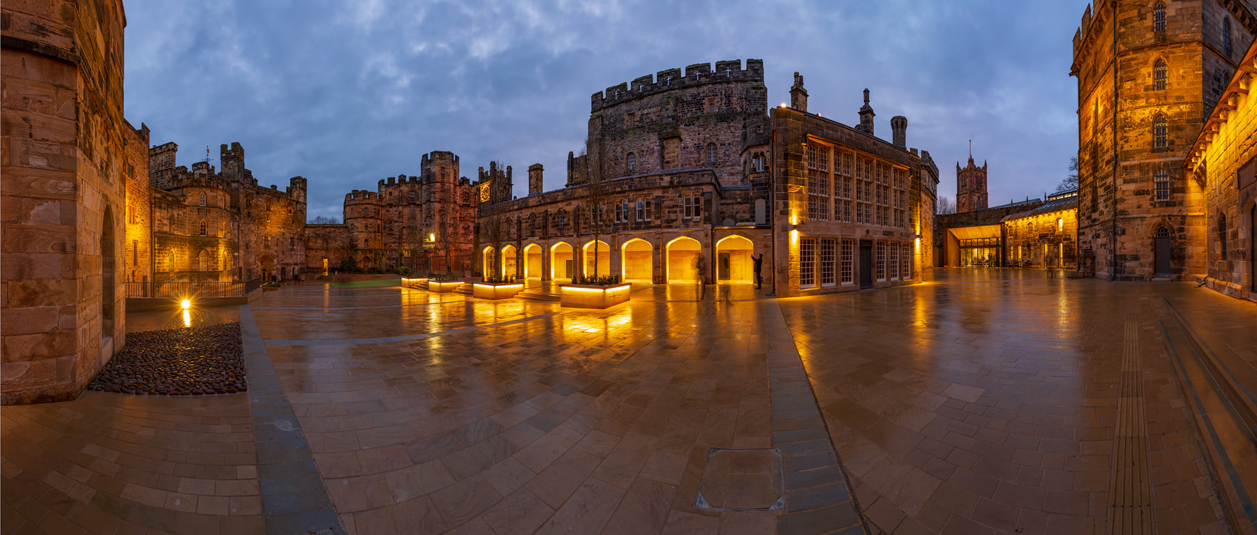 Lancaster Castle Courtyard
